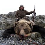 brown bear hunting in Russia