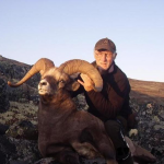 snow sheep hunting in Russia