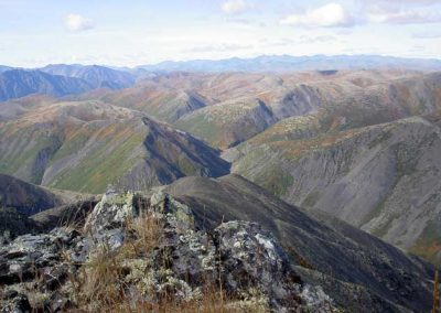 Ridges of Magadan, Russia