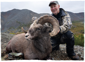 Snow sheep guided hunt with Kulu Safaris