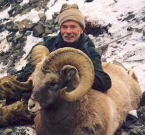 snow sheep hunting in magadan region