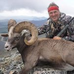 jim shockey snow sheep with Kulu Safaris