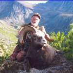 Successful snow sheep hunt in Magadan, Russia